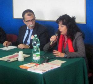 Nelle file di Rivoluzione Civile, per le regionali del Lazio, anche l