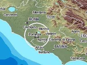 La terra torna a tremare ai Castelli Romani ed anche in provincia di Latina. Scossa alle 2.04.