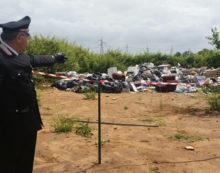 Scoperta dai Carabinieri una discarica abusiva a Priverno: due denunce.