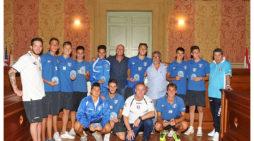 L'Anzio Calcio conquista la serie D, la premiazione in Comune