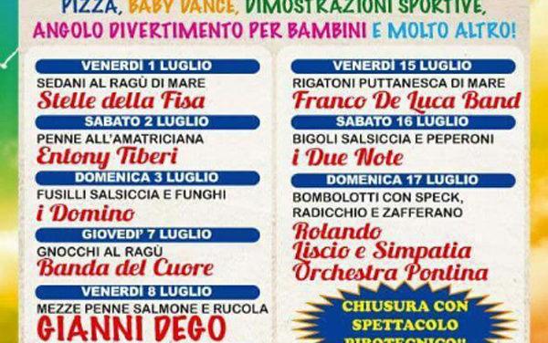 """LATINA _ """"Borgo Piave in Festa"""" dal 1° al 17 luglio."""