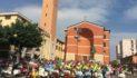 Infiorata di Aprilia, i volontari scaldano la piazza. Si inizia