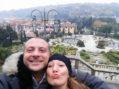 Fabio ed Aurelia, marito e moglie di Nettuno, anche loro vittime del terremoto.