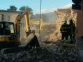 Terremoto nel reatino, i vigili del fuoco di Latina in prima linea. LE FOTO