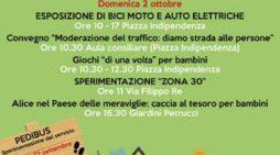 A Pomezia questa domenica un'esposizione di mezzi elettrici