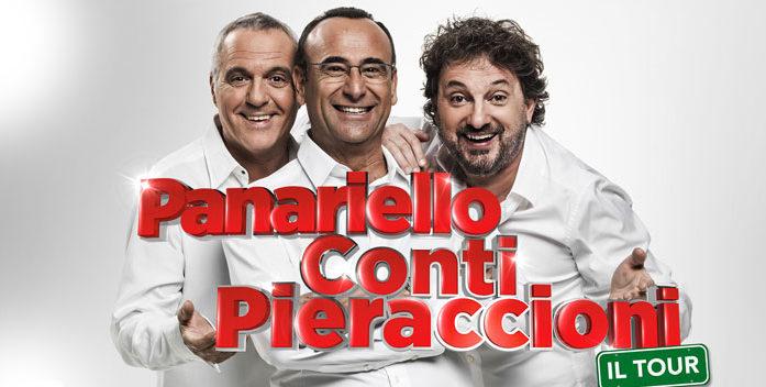Lo Show di Panariello, Conti e Pieraccioni anche a Roma