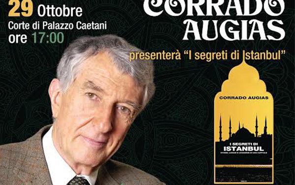 Cisterna, a Palazzo Caetani incontro con Corrado Augias