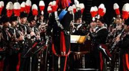 80esimo di Aprilia, il 29 ottobre l'esibizione della Banda Musicale dell'Arma dei Carabinieri.