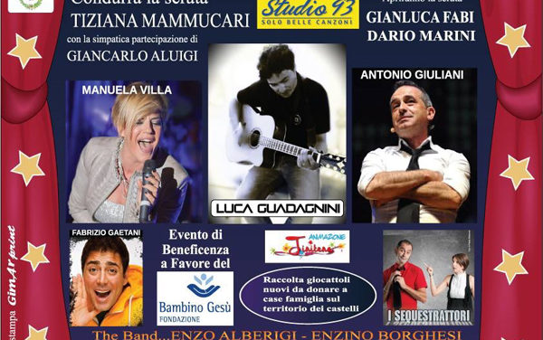 """""""Per amore cosa sei disposto a fare"""", l'evento di beneficenza al teatro Tognazzi di Velletri"""