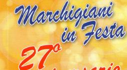"""APRILIA  – Domenica 13 novembre il raduno """"Marchigiani in festa""""."""