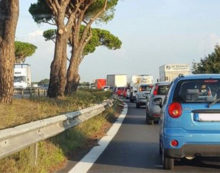 Lavori sulla Pontina: riduzione di carreggiata e limite a 30km orari sino al prossimo 31 marzo.