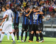 Calcio di serie B: il Latina torna al successo con la Virtus Entella. Sabato arriva Ascoli.