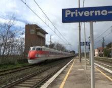 Malore in treno: convoglio fermo per oltre mezz'ora alla stazione di Priverno.