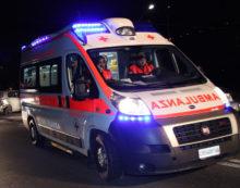 Grave incidente sulla provinciale Fondi-Lenola: 20enne in codice rosso.