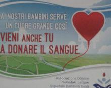 Raccolta sangue a Campoleone per l'ospedale Bambino Gesù