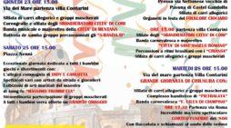 Albano, torna il Gran Carnevale Pavonese