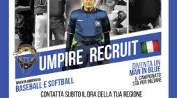 ANZIO – Al via un corso per formare nuovi arbitri di baseball. Inizia anche la preparazione.