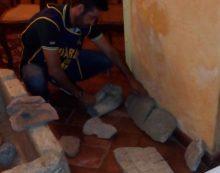 Recuperati a Lanuvio dalla Finanza 250 reperti archeologici: tre persone denunciate.