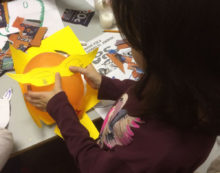 CORI – Oggi pomeriggio laboratorio didattico e creativo sulla manipolazione della cartapesta.