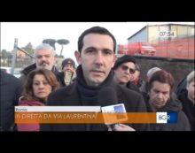 """POMEZIA – Fucci: """"Entro pochi giorni lavori conclusi sulla Laurentina e sulla Pontina Vecchia""""."""