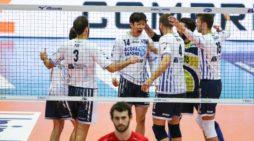 Pallavolo di Superlega: la Top Volley Latina supera Milano ed accede ai quarti di finale.