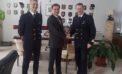 Il Prefetto di Latina saluta il Comandante della Capitaneria di Porto di Gaeta, Meoli