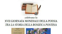 Giornata Mondiale della Poesia,  l'iniziativa a Latina