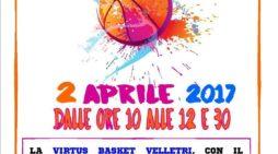 Raduno Rosa a Velletri con la Virtus Basket