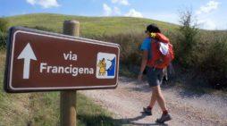 Passeggiata questa domenica lungo la Via Francigena dei Castelli Romani.