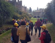 Giornata Mondiale dell'Acqua, concorso Acqualatina: 150 bambini visitano i Giardini di Ninfa.
