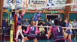Pallavolo femminile B1 – Vince e convince la Giovolley Aprilia