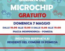 """Domenica 7 Maggio a Pomezia la """"Giornata del microchip gratuito per i cani""""."""