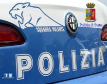 MARINO –  Un frigorifero dietro la porta e la chiamata al 112: compagno violento in manette.