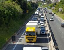 Viabilità, Astral Infomobilità: Traffico congestionato su Gra, Roma-Fiumicino e Solfarata