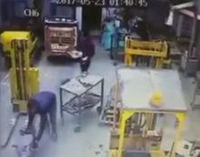 APRILIA – Maxi furto all'interno di un'azienda edile di via del Campo. IL VIDEO
