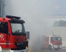 Genzano, auto in fiamme sulla tangenziale