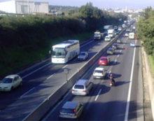 Traffico sulla Pontina, incidente tra Laurentina ed Aprilia