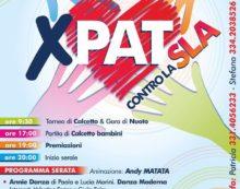 """""""Pat contro la SLA"""", l'evento di beneficenza ad Aprilia"""