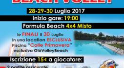 """Aprilia – Al via il terzo Torneo Summer 2017 """"Giò Volley Beach"""""""