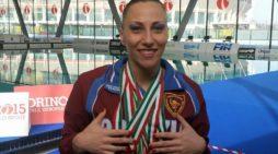 Manila Flamini di Velletri è medaglia d'oro ai Campionati del Mondo di nuoto sincronizzato