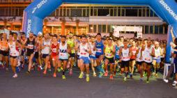 Notturna Apriliana, le strade del centro invase dai runners