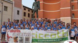 Notturna – La Podistica Aprilia conquista il prestigioso 2° posto nella classifica a squadre