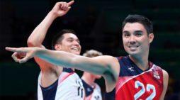 Pallavolo Superlega – Lo statunitense Erik Shoji alla Top Volley Latina