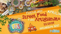 """Dal 22 al 24 settembre ad Aprilia, al Parco di via dei Mille, la seconda edizione dello """"Street Food""""."""