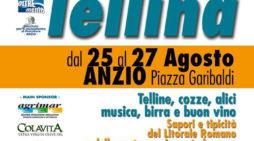 """Quinta edizione della """"Sagra della Tellina"""" in Piazza Garibaldi, ad Anzio."""