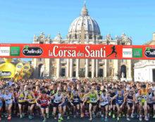 """La Podistica Aprilia a Roma per """"La Corsa dei Santi""""."""