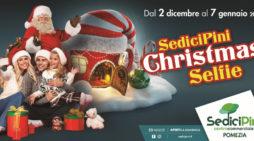 """Lunga serie di eventi per Natale al centro commerciale """"Sedici Pini"""" di Pomezia."""