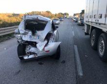 Incidente sulla Pontina, pesanti disagi al traffico