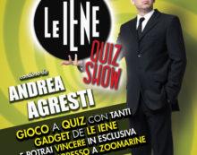 """Al centro commerciale """"Sedici Pini"""" di Pomezia Quiz Show de Le Iene."""