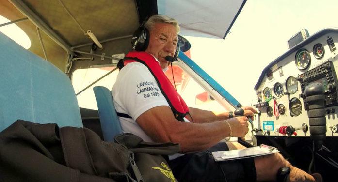 Ultraleggero precipita in un terreno tra Ardea e Pomezia. Deceduto il pilota, Biagio Cammarone.